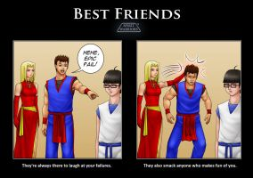 Spirit Warriors-Best Friends by SpiritWarriors