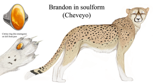 Brandon/Cheveyo ref sheet v1.0 by LabradoriteWolf
