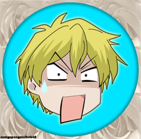 Tamaki Button by zomgspongelolbob48