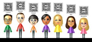 The Big Bang Theory Miis by Lwiis64