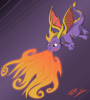 Spyro The Dragon by Toonexterminator