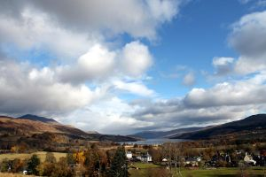 the majesty of Loch Tay from Killin by karliosi