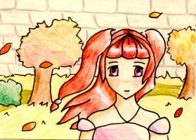 Aceo: Autumn Wind by Notebook-Queen