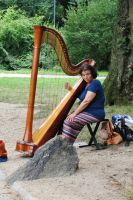 Lady with a Harp by JessyFTW