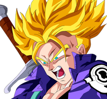 Trunks Super Saiyan by SbdDBZ