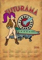 Futurama, calendar 2015, page 13 by bear-bm