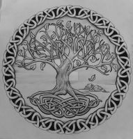 Tree of life with rocks by Tattoo-Design