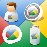 Google Buzz Icon Kit by IconTexto