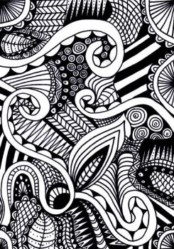 Zentangle1 by kendraconcannon