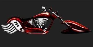 Hoverbike - classic by Tralkan