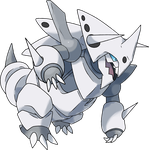 Mega Aggron by TheAngryAron