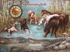 Horseman Cairo-Clock by GrynayS