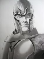 Magneto WIP Final by corysmithart