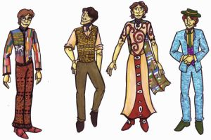 Klimtian Robo-Beatles by mitya
