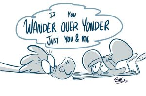 Wander over yonder by gabs94