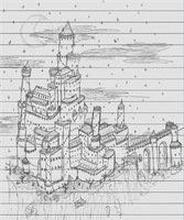 lecture skecthes - Fantasy Castle by packie1984