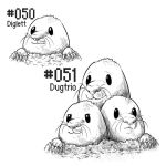 PKMN-A-DAY: Moles by the-b3ing