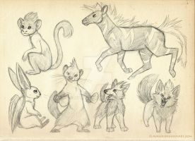 Pokemon sketches