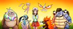 TPP:FR - The Team by Wolframclaws