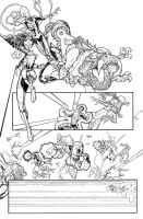 Green Lantern New Guardians #16 page 14 by AaronKuder