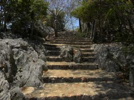 stairway to the bell by AztecAngelo