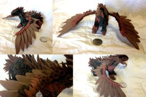 Saltherai - Dragon Statue - GIFT by SonsationalCreations