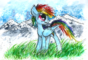 Dash's mountains by smartMeggie