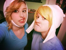 Adventure Time with Finn and Fionna! by FeatherSnitch