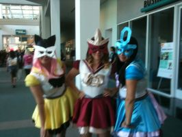 Anime Expo 2012 Raikou, Entei, and Suicune by Fainting-Ostrich