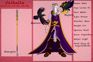 Valhalla Warrior of the Gods - Odin by TaCDLunaria91