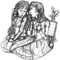 laura and carmilla by clytie