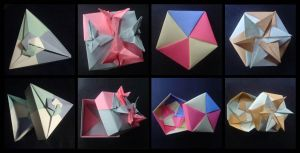 Origami Boxes by lonely--soldier