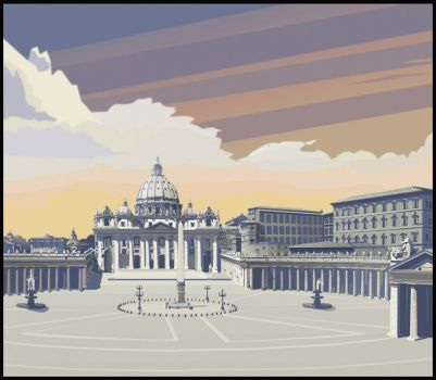 Vatican, Rome by toddnovak
