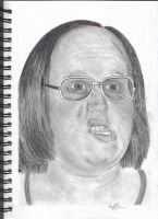 Andy from Little Britain by Jarryn