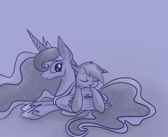 monochrome dreams by Tinyfeather