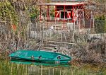 Cabanon , barque et canards by JoelRemy222