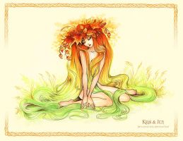 Physalis-girl by jen-and-kris