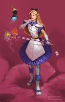 Lady Luck - Alice by furafura