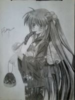 Rin/Little Busters by ProAnimeReikan00
