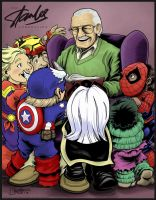 Stan the Man Reads to Kids! by artistjerrybennett