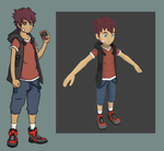 2D to 3D - Male Character Concept by VAFIS