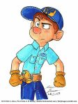 Fix-it Felix Jr. Marker art by Slasher12
