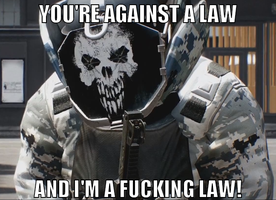 [PAYDAY 2] A FUCKING LAW! by Epicfighter