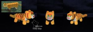 Minecraft Cat Plush by Vegeto-UchihaPortgas