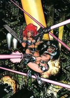 Animace Dirtypair Cover by Ohnhai