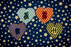 2013 - Patches | Harry Potter Hogwarts Houses by elysiagriffin
