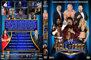 WWE Hall of Fame 2013 DVD Cover by Chirantha