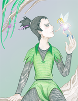 Shikamaru In Neverland by CrystalLynnblud