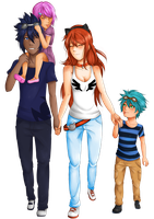 Commission: Family by kimbolie12