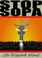 Equestria says NO to SOPA by videogamesizzle